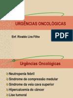 ONCOLOGIA Urgências Oncológicas