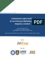 Prospecto II Seminario Sobre Arcillas en Los Procesos Metalúrgicos Impacto y Control