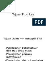 Tujuan Promkes