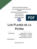 Planes de La Patria Final