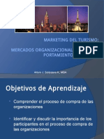 Marketing Del Turismo - Mercados Organizacionales