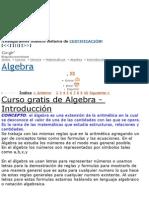 CURSO ALGEBRA .doc