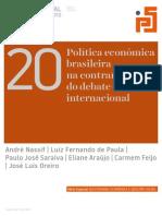 Revista Plataforma Social -N. 20 - Ajuste Fiscal
