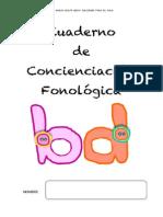 Cuaderno Para Trabajar La Conciencia Fonológica