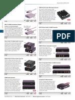 Audio Visual Signal Converters