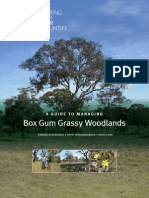 A guide to managing Box Gum Grassy Woodlands