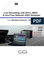 Live Recording Guide m7cl48es Asio Streamer En