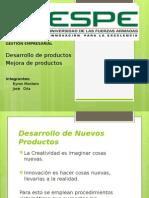 Desarrollo y Mejora de Productos