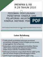 Permen PAN Dan RB Nomor 29 Tahun 2010