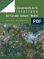 Vision de Conservasion Corredor Amboro Madidi