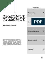 sr701 Manual