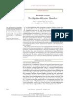 Mechanisms of Disease the Myeloproliferative Disordersnejmra063728