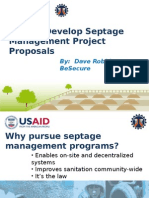 How to Develop Septage Management Project Proposals