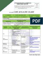 Plan de aula