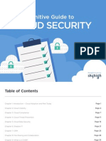eBook Definitive Guide to Cloud Security