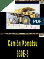 Curso Familiarizacion Camion Minero 930e3 Komatsu