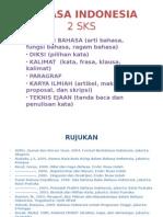 Presentasi Mata Kuliah Bahasa Indonesia UB