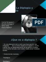 Estudio de La Diplopía y Coordimetria