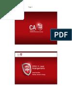 Ifrs11 Joint Arrangements