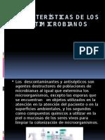 Características de Los Antimicrobianos