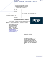MDG INTERNATIONAL, INC. v. AUSTRALIAN GOLD, INC. - Document No. 18