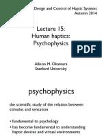 lecture15-psychophysics