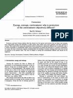 Energy Entropy.environment