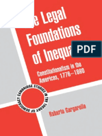 Roberto Gargarella - The Legal Foundations of Inequality