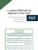 7-Irrigation Methods Apply Water
