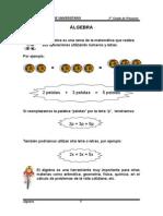 MATEMÁTICA.-3er Grado Algebra