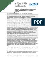 Study of paracetamol
