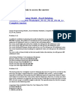 Linear Programming Model _Excel Solution Module3_Complete Worksheet_P3-12_P3-22_P3-18