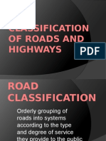 Classification of Roads and Highways