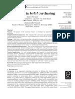 Principle of Halal Purchasing
