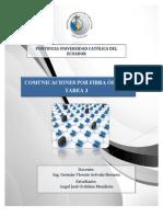 Analisis a Documento Cientifico - Comunicaciones Por Fibra Optica
