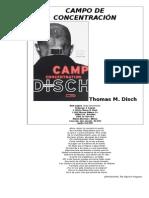 Campo de Concentración - Thomas Disch