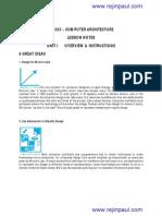 CS6303 Notes