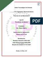 Ciencia de los Materiales II Panama