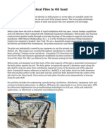 Performance Of Helical Piles In Oil Sand