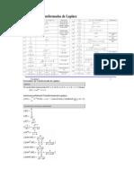 Formulas de Laplace