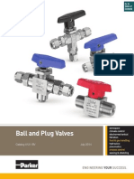 Ball Valve catalouge -Parkar