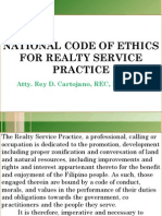 Rdc Code of Ethics