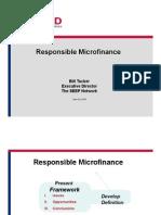 Responsible Microfinance