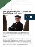 PUCP _ PuntoEdu Ley de Servicio Civil_ ¿Quiénes Se Benefician y Quiénes No_ - PUCP _ PuntoEdu