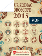 Your Zodiac Horoscope 2015