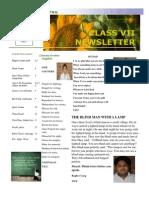 final class 7 newsletter