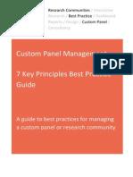 Custom Panel Best Practice Guide 2015