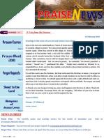 Praise News - February 2010