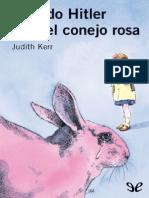 Cuando Hitler Robo El Conejo Ro - Judith Kerr