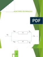 1 Diseño de Reactores en Paralelo